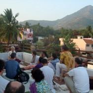 1 Jan 2014 – Satsang with Radha, Tiruvannamalai,  Tamil Nadu , India,